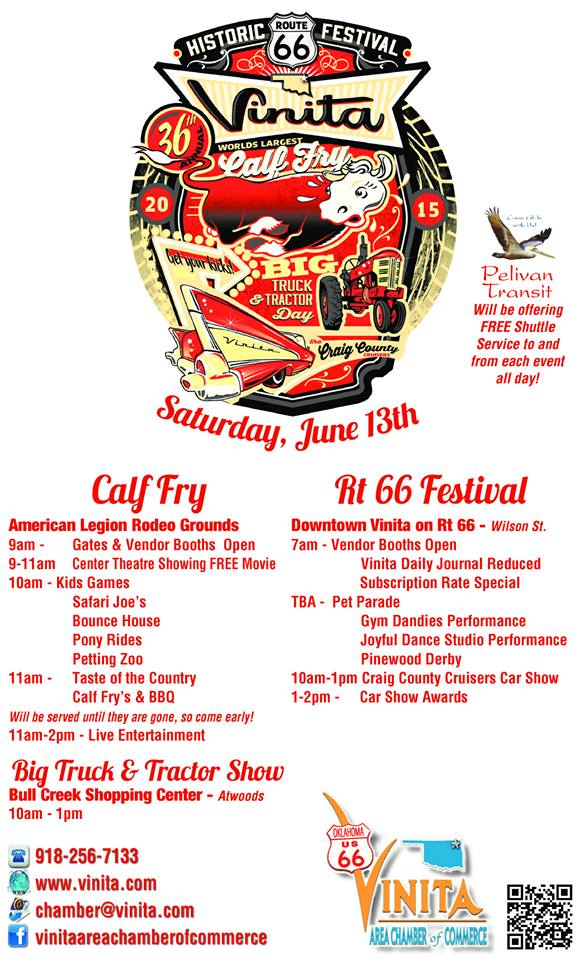 Vinita Calf Fry and Route 66 Festival
