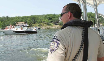 GRDA Police safe boating Grand Lake OK