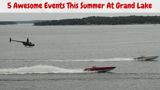 5 Events at Grand Lake
