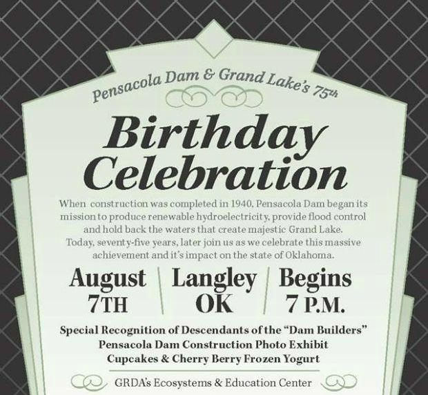 Pensacola Dam 75th Birthday