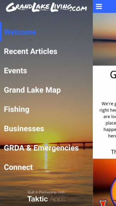 Grand Lake Living Mobile App
