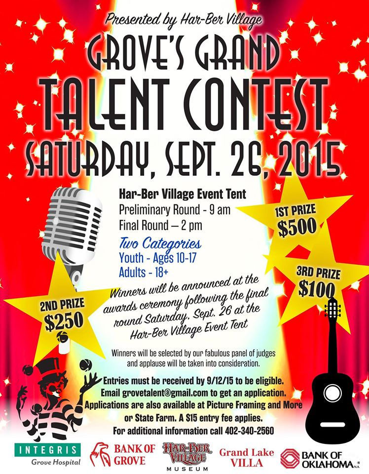 Grove OK Grand Talent Contest