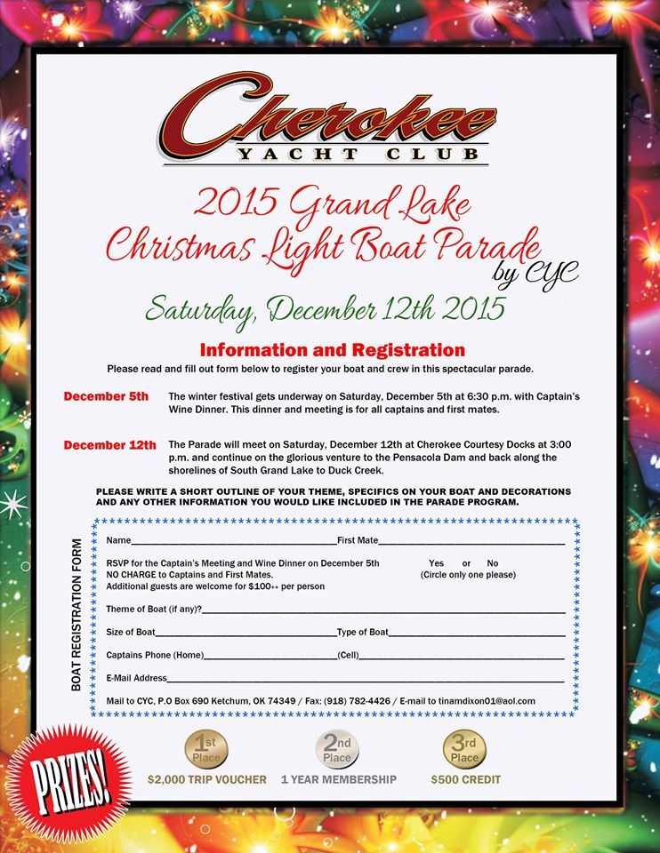 2015 Grand Lake Christmas Boat Parade