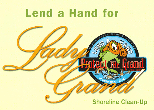 Grand Lake Shoreline Cleanup