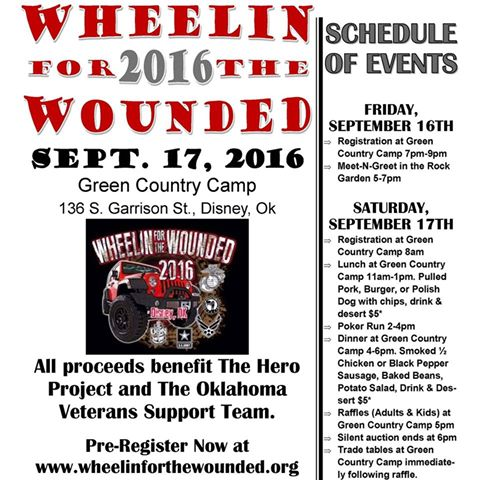 Wheelin For The Wounded 2016