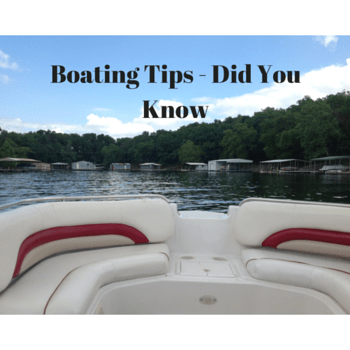 Boating Tips – Doubling The Line