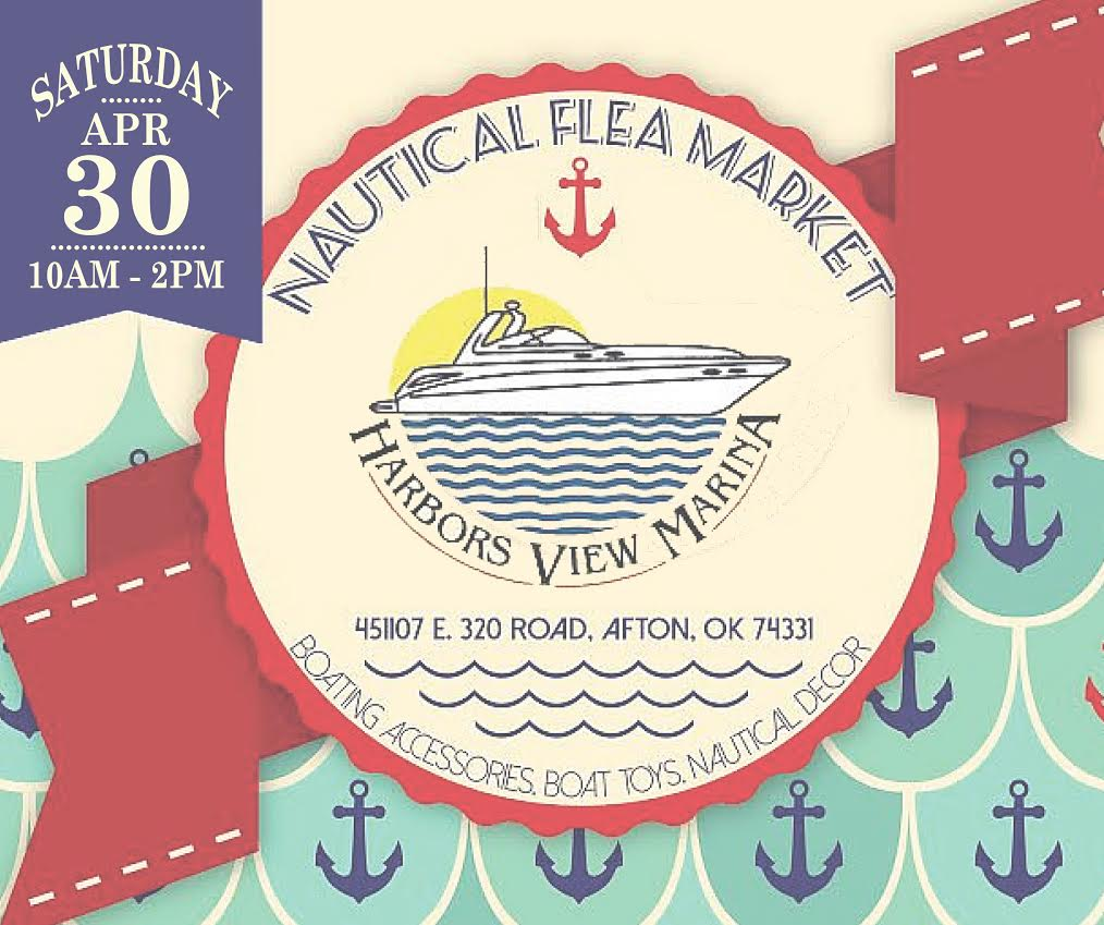 Nautical flea market at Grand Lake