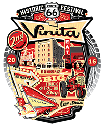 Celebrate America's Main Street At Vinita's 2016 Route 66 Festival On June 18