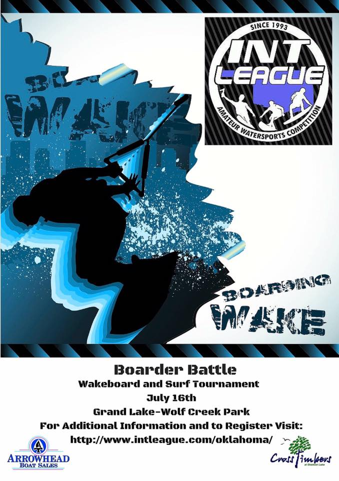 Grove OK Wakeboarding competition 2016