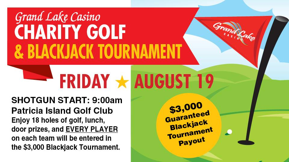 Charity Golf and Blackjack Tournament