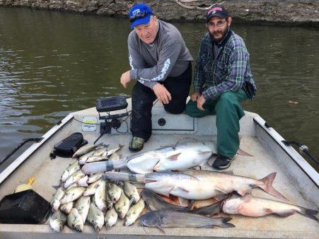 Fall fishing at Grand Lake OK