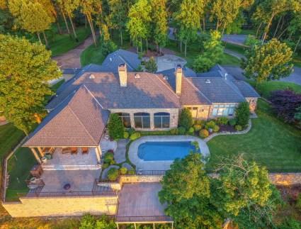 59211 E 288 LN Grove OK Aerial View