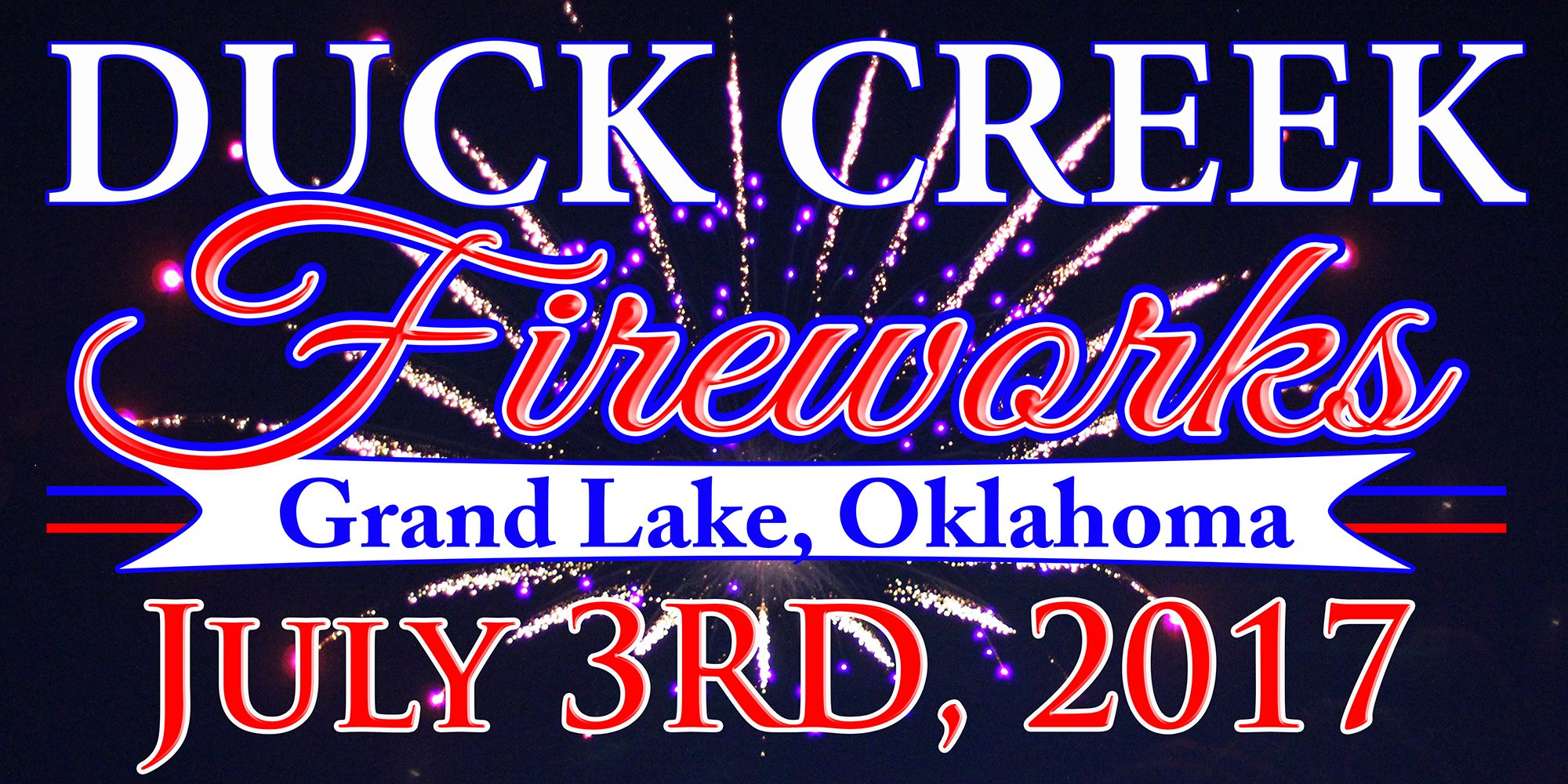 2017 Duck Creek Fireworks