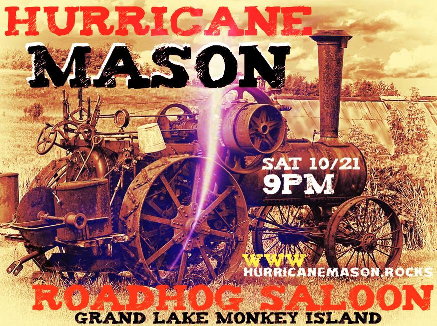 Hurricane Mason Road Hog