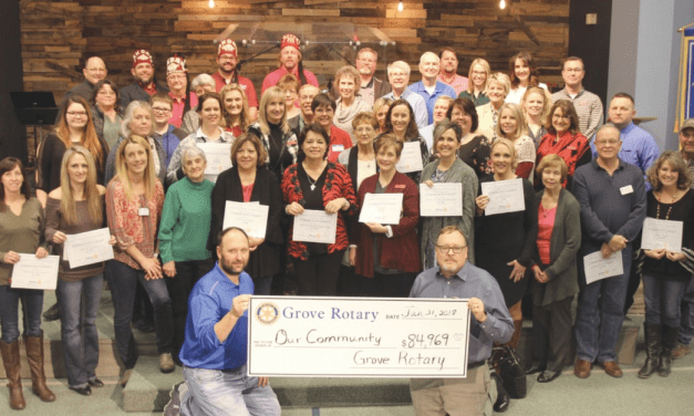 Grove Rotary Presents Almost $85,000 To Community Organizations