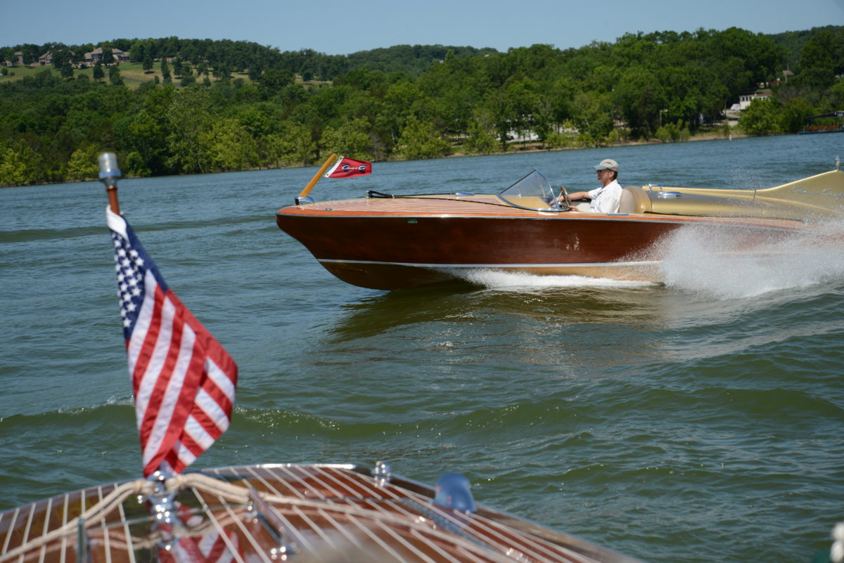 Mahogany and Chrome Boat Show 2019