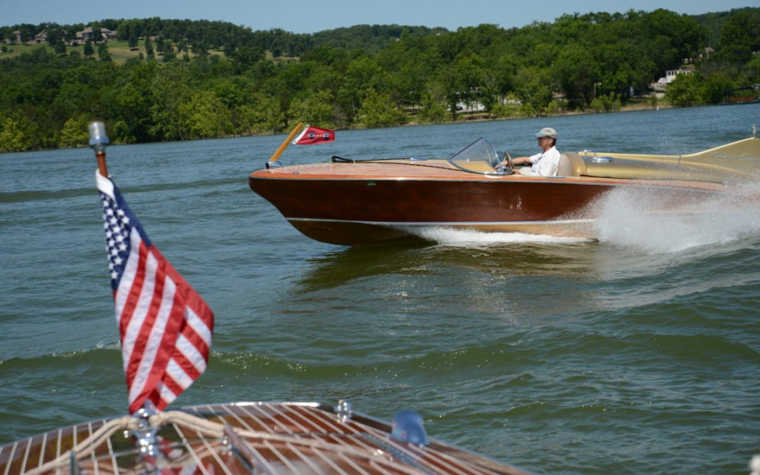 2019 Mahogany and Chrome Classic Boat Show