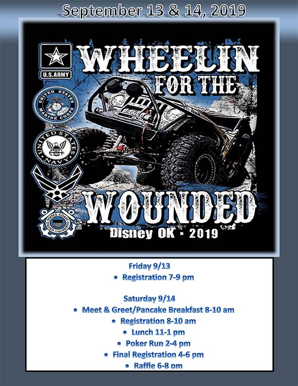 2019 Wheelin For The Wounded