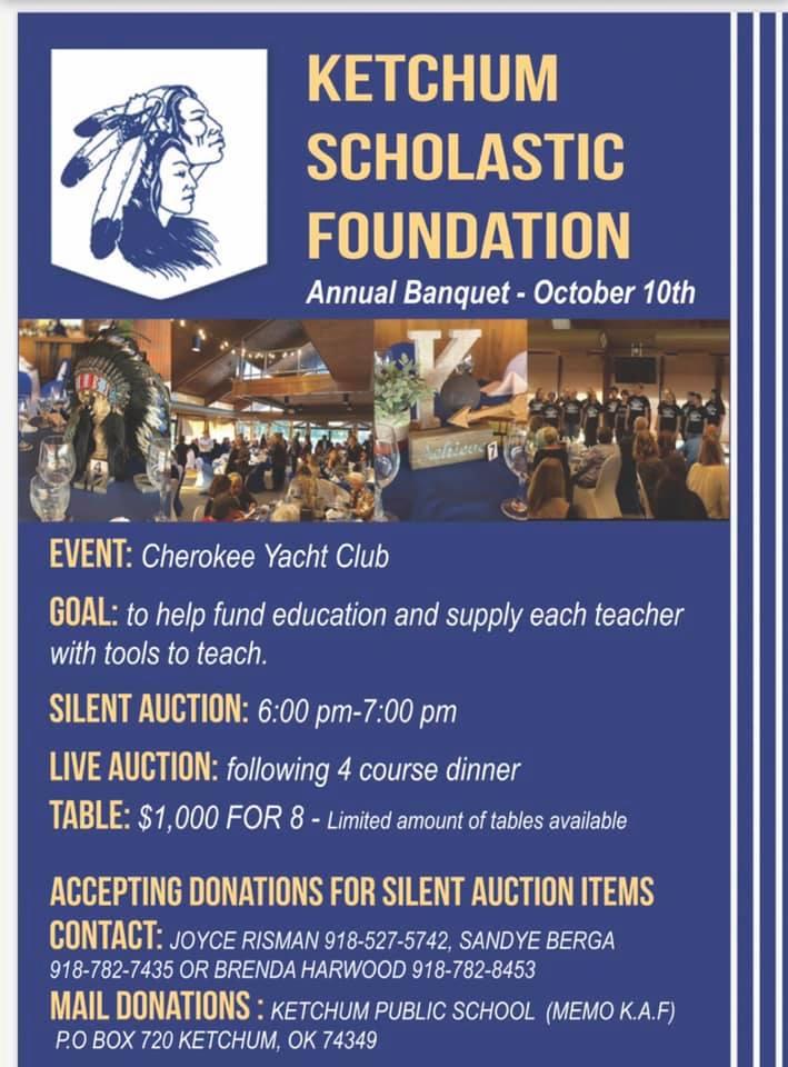 Ketchum Scholastic Foundation Banquet