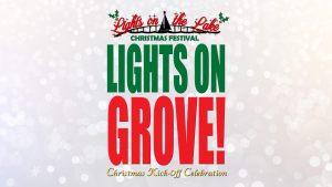 Grove OK Christmas Tree Lighting