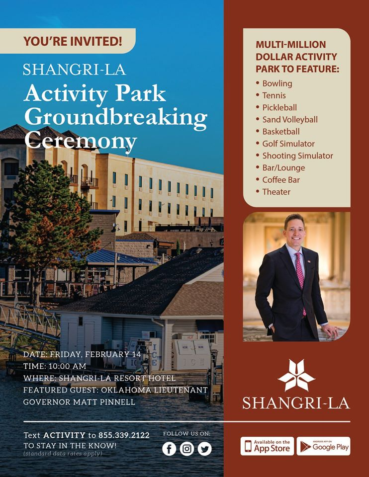 Shangri-La Activity Park Groundbreaking