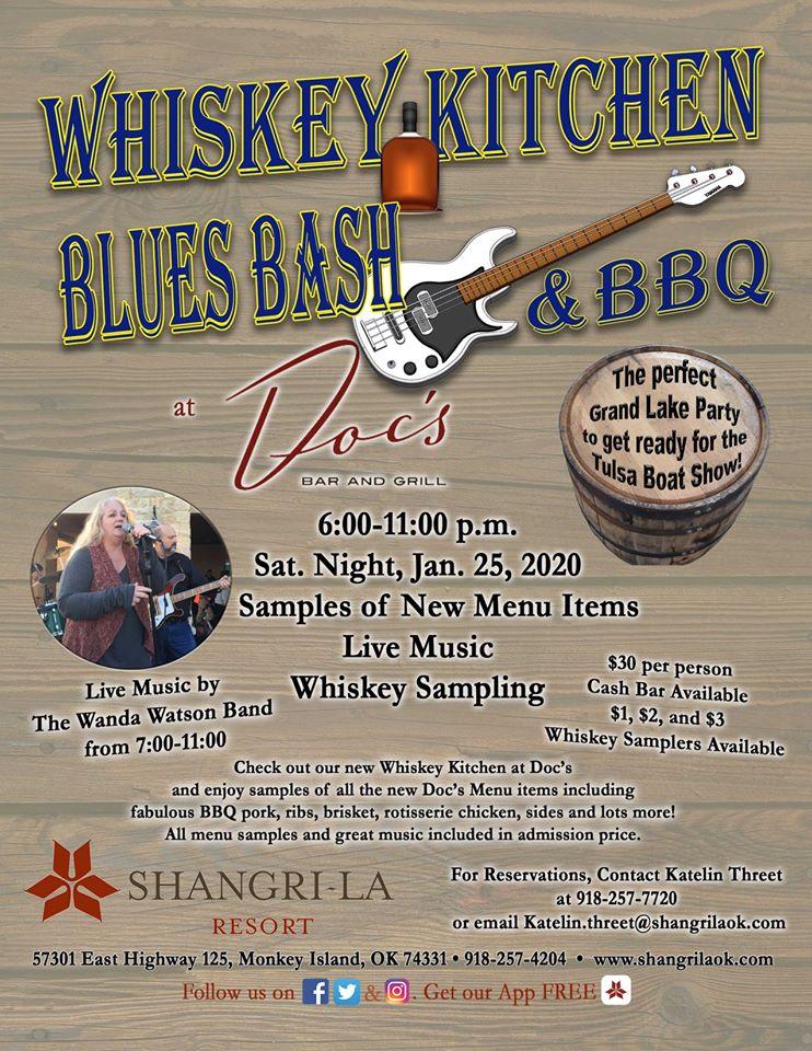 Shangri La Whiskey Blues and BBQ