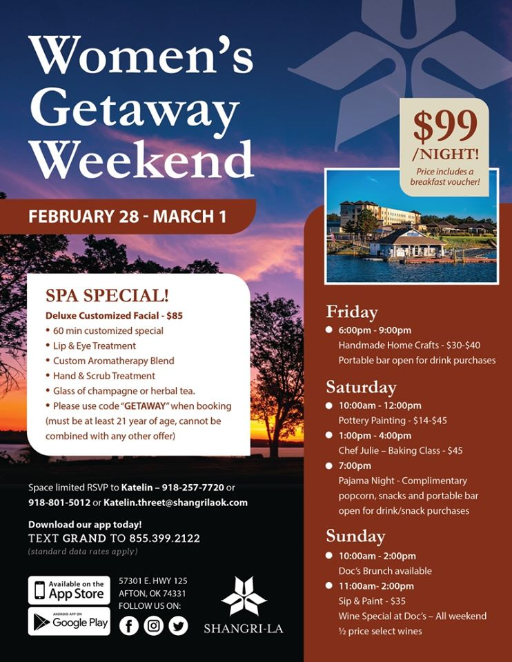 Shangri-La Women's Getaway Weekend