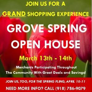 Grove Spring Open House