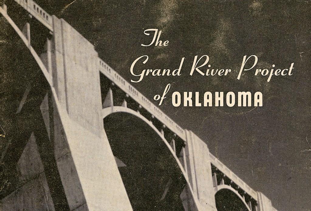 GRDA 1950 Pensacola Dam brochure