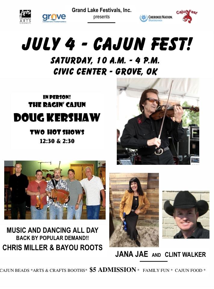Grove Cajun Festival 2020
