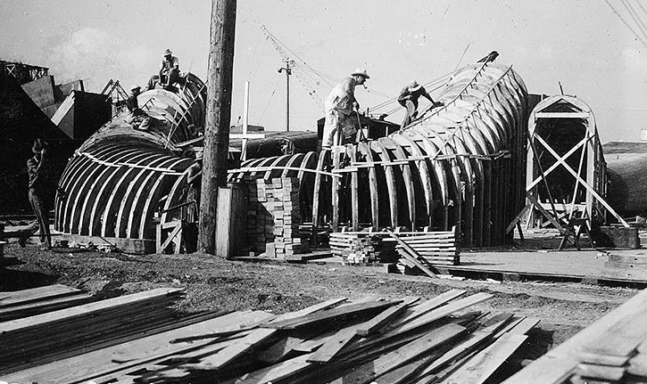 Pensacola Dam workers 1939