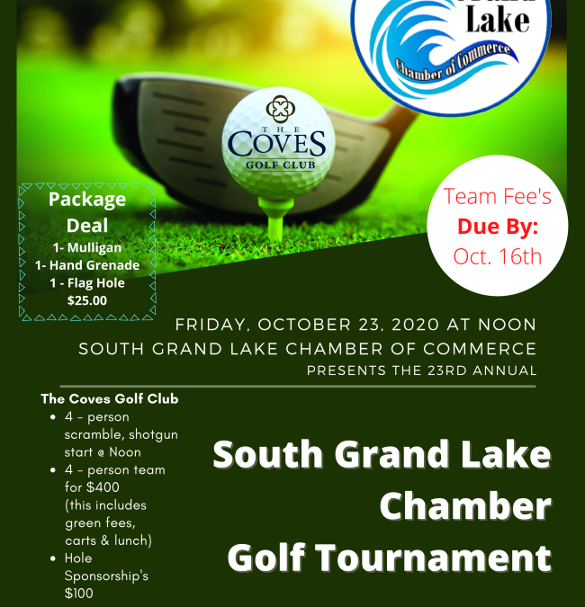 South Grand Lake Chamber Golf Tournament