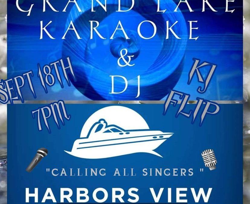 Karaoke and DJ at Harbors View