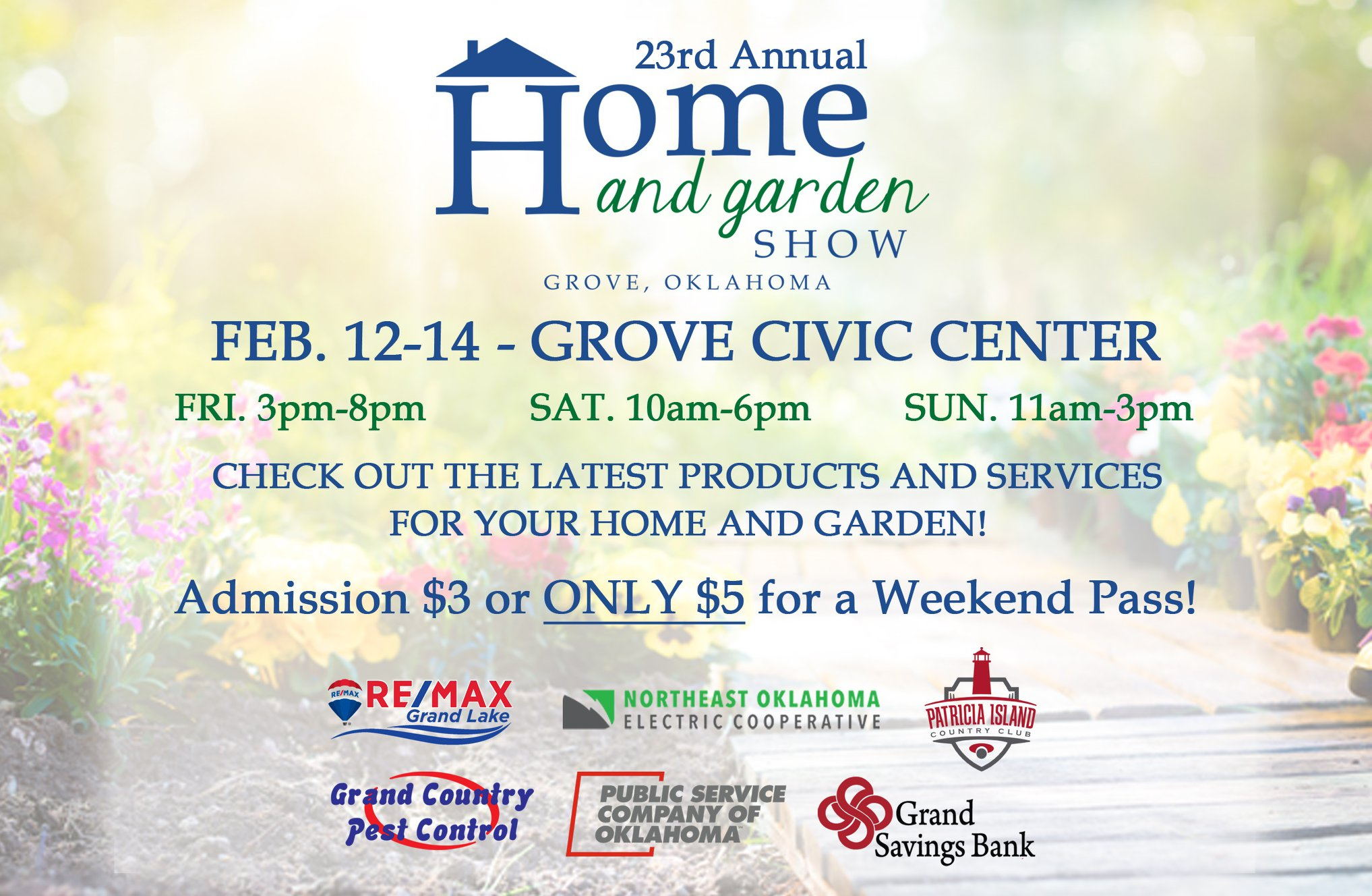 2021 Grove Home and Garden Show
