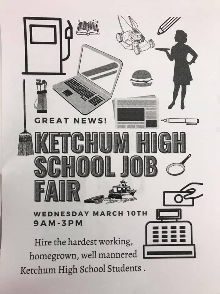 Ketchum HS Job Fair 2021