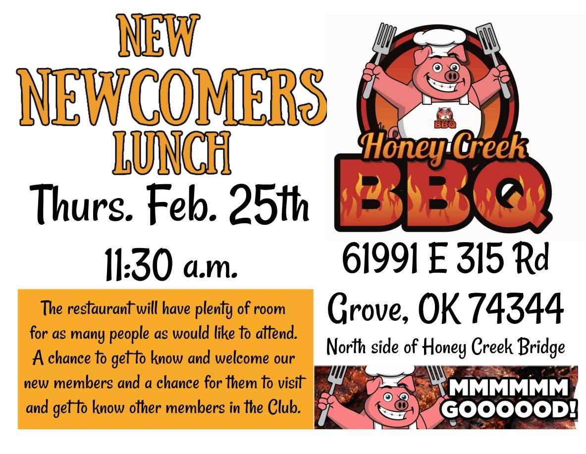 Grand Lake Newcomers Club Feb 2021