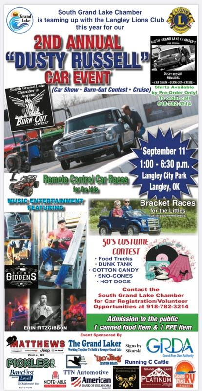 Car Show and Chili Cookoff Langley OK