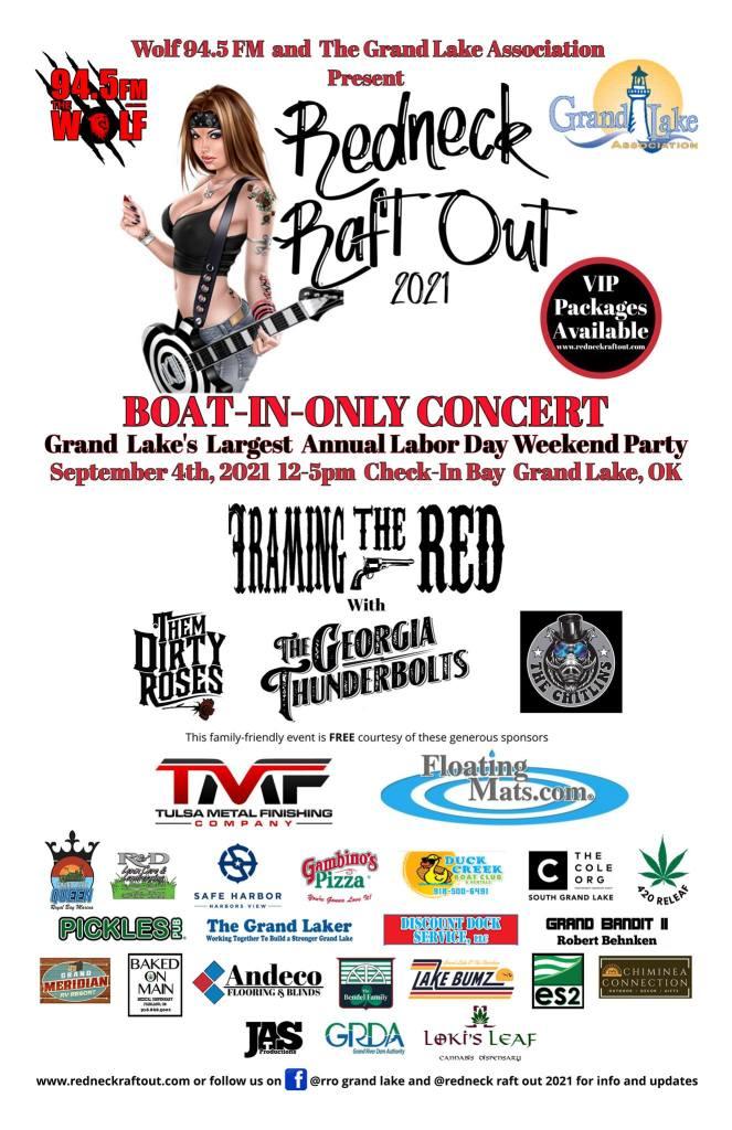 Redneck Raftout Grand Lake Labor Day 2021