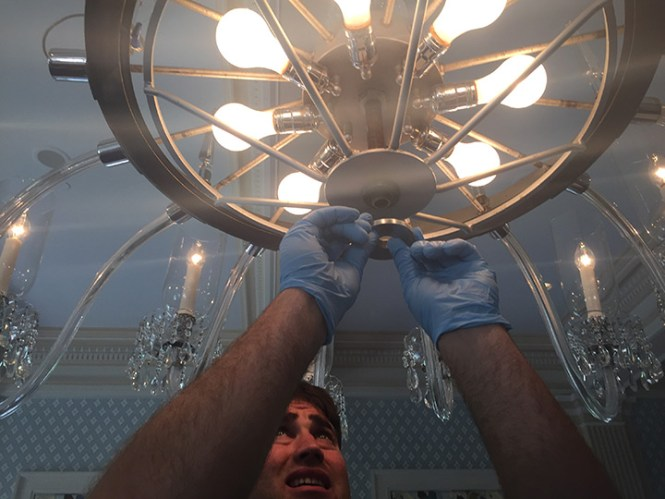 Chandelier Crystal Repair Azontreasures Com