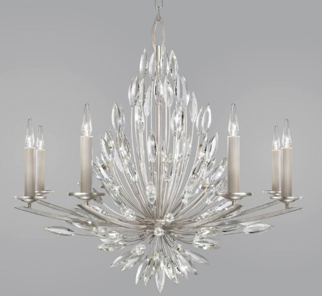 Lily Buds 8 Light Large Transitional Chandelier