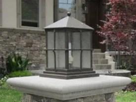 high quality outdoor column mount lighting
