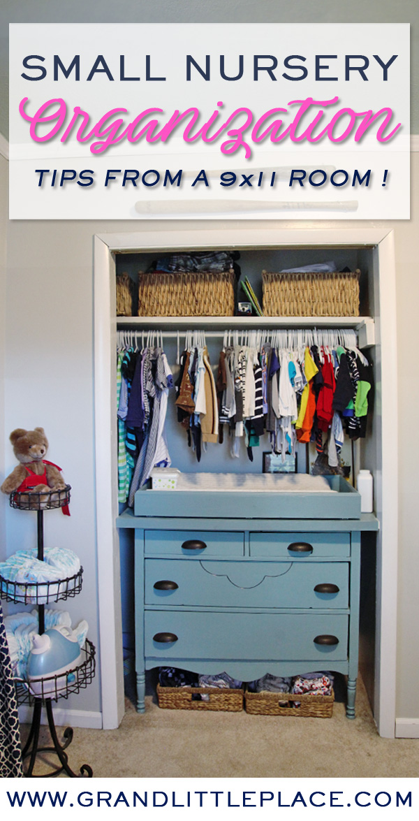 Space Saving Ideas For Decorating A Small Nursery Grand Little Place