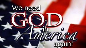 God in America again
