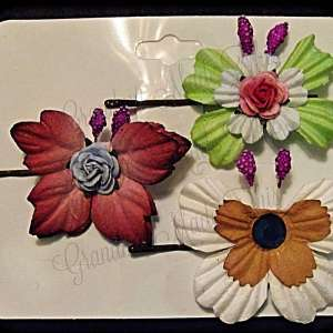 Mulberry Paper Butterfly Bobby Pin Set 19
