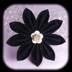 Kanzashi Flower Petals Up Hair Bow 6