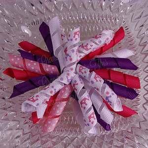 Princess Crowns 1 Korker Ribbon Bow