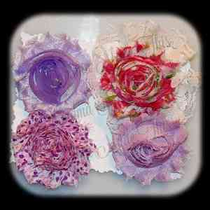 Shabby Chic Interchangeable Flower Set 7