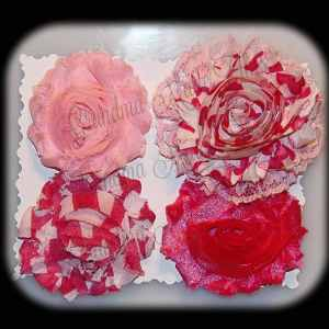 Shabby Chic Interchangeable Flower Set 8