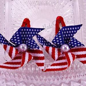 Patriotic Pinwheel Snap Clippie Sets