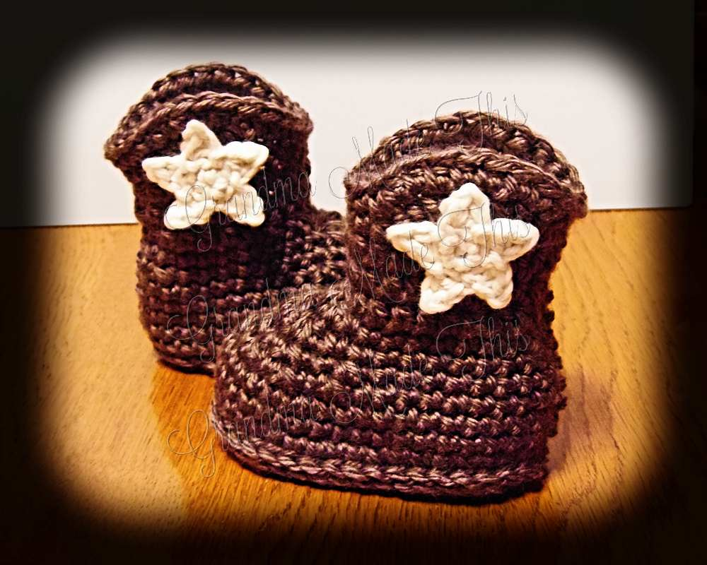Cowboy Boots - Brown